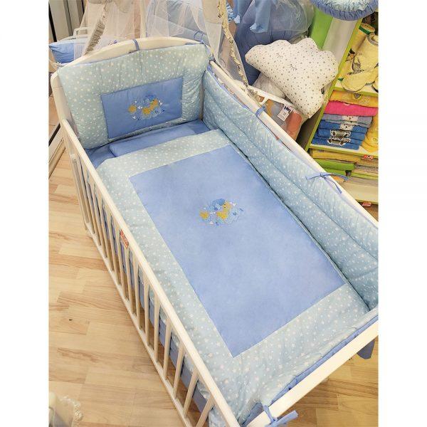 Pamučna posteljina bebi