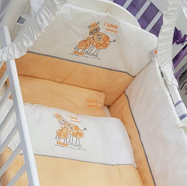 Posteljina za bebe pamuk