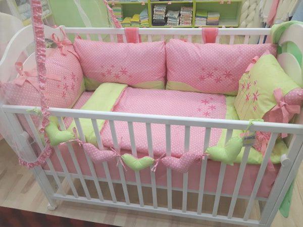 Bebi posteljina pamučna