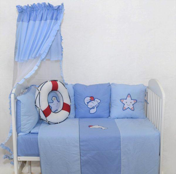 Bebi posteljine pamučne