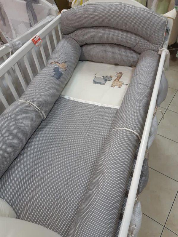 Posteljina za bebe pamučna 190