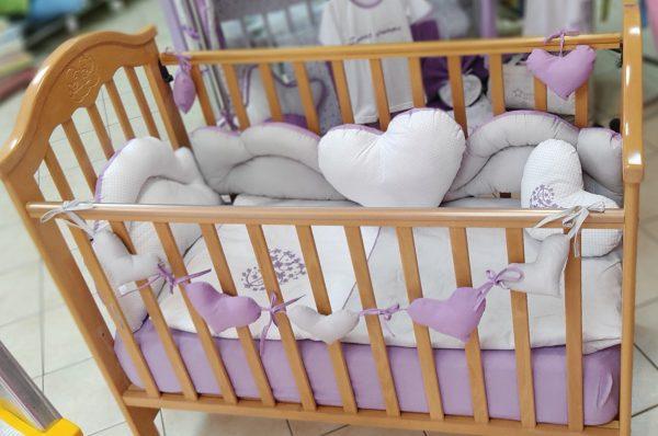 Srce pamucna posteljina