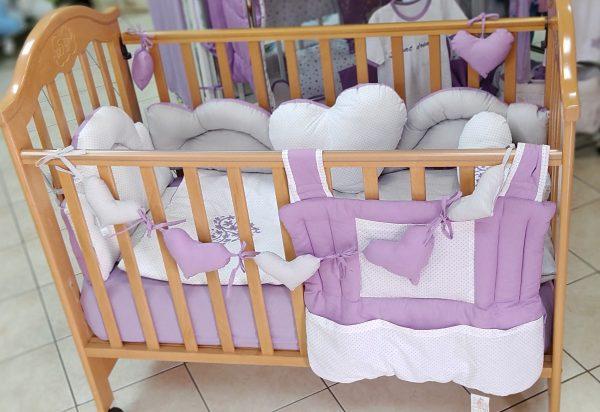 Srce posteljina za bebe