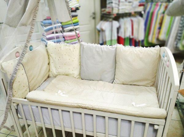 Bebi posteljina pamučna 551