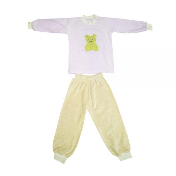 Pidžama za bebe pliš